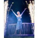 Kunglig glans när Disney On Ice firar 25 år i Sverige