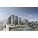 HSB planerar att bygga premium-bostadsrätter i Luthagen Strand