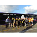 OXFORD BUS COMPANY PARTNER WITH ASPIRE TO LAUNCH COMMUNITY GYM BUS