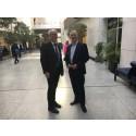 Scandlines präsentiert Green Agenda in Brüssel