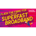 Introducing Flash the Fibre Fox – thanks to the Clarke family from Leicestershire