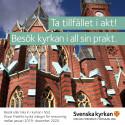 Oscar Fredriks kyrka renoveras under knappt två år