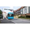 Standard för automatisk laddning av bussar och lastbilar