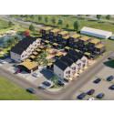 Försäljningen igång för nyproducerade bostäder i Trelleborg