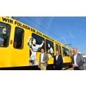 21 und der BVB schicken schwarzgelbe Legendenbahn auf die Strecke