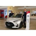 Mosjøen - Toyota Yaris er Årets Bil 2021