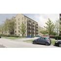 135 hållbara bostäder när västra Bellevuegården utvecklas