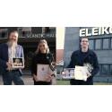 Scandic Hallandia och Eleiko AB vinnare när kommunen delade ut priser