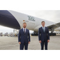 First CO2-neutral freight flight Lufthansa Cargo and DB Schenker start