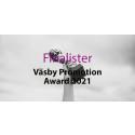 Här är finalisterna i Väsby Promotion Award 2021