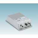 Power supply with IP67 degree of protection