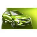 Volkswagen släpper designskisser på ny crossover