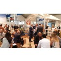DSV gave customers and visitors a taste of Denmark at transport logistics fair in Munich