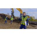Maskinførersnilde sikrer arkæologisk udgravning i Odense