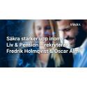 Säkra stärker upp inom Liv & Pension – rekryterar Fredrik Holmqvist och Oscar Alm