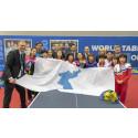 Historisk Korea-flagga tar plats på Halmstad Arena 14 februari