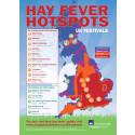 Hay fever hotspots