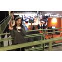 Kaiyuan från Shanghai tillbaka på Högskolan i Skövde för tredje gången