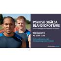 Psykisk ohälsa bland idrottare - gratis lunchwebbinarium 27/5