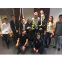 Elever på Realgymnasiet i Norrköping skapar miljöer i Virtual Reality