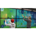 Bubble Wall with Mobile and Large Screen Cooperation features