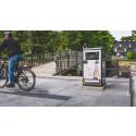 Smarta papperskorgar utmärker sig i Borås med nya utseenden
