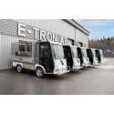 E-TRON AB levererar 5 st eldrivna arbetsfordon till Växjö kommun