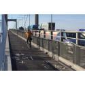 Gång- och cykelbana över Älvsborgsbron öppen