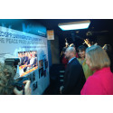 Nobel Peace Center's exhibition on EU opened in Brussels