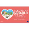 Europeiska Mobilitetsveckan 2021 pågår 16-22 september