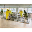 Professionelle Desinfektion von Raummodulen gegen COVID-19