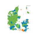 Størst andel af virksomheder med overskud i jyske kommuner