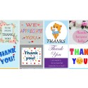 Say thank you with a donation to a good cause