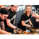 Oumph! sponsor the show kitchen at Vegan Life Live
