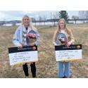 Piteåborna Kajsa och Emma får sina önskningar förverkligade
