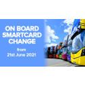 On board Smartcard change
