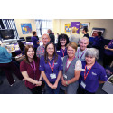 The Stroke Association and Anglian Water set out to conquer stroke during Make May Purple
