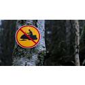 Länsstyrelsens varning:  stora delar av Dalarna har för lite snö för skoteråkning