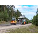 Lyckat försök med lignin i halvvarm asfalt
