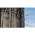 Köln von oben erleben mit der Action Cam Mini von Sony