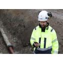 Geomatikk lanserar GeoDig, appen för gräventreprenörer