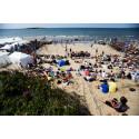 Simning, ballongflyg och beachhandboll med mera under SM-veckan i Halmstad 2020