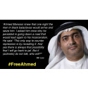 """Frightening precedent for UAE population - Lawyer imprisoned for 10 years for """"defaming the government"""" over civil rights discussions."""