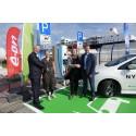 Laden Sie Ihr Elektroauto bei Scandlines' BorderShop auf