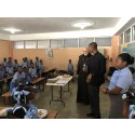 Kardinal Arborelius besökte skola på Haiti