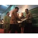 Epson Indonesia menerima Piagam Penghargaan dari Museum Nasional