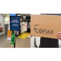 Copiax-kunder som e-handlar, erbjuds snabbare varuutlämning