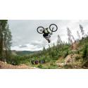 Spektakulært sykkelshow da Norges beste freeridesyklister konkurrerte i Trysil