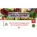 Lions Tulipanaksjon 2020 er avlyst