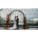 Realise your dream fairy tale wedding at the iconic Jewel Changi Airport and romantic garden canopy Hub & Spoke